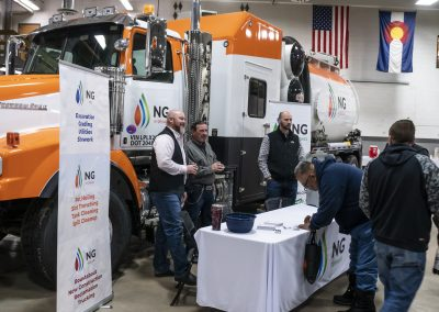 NG companies booth 811 event
