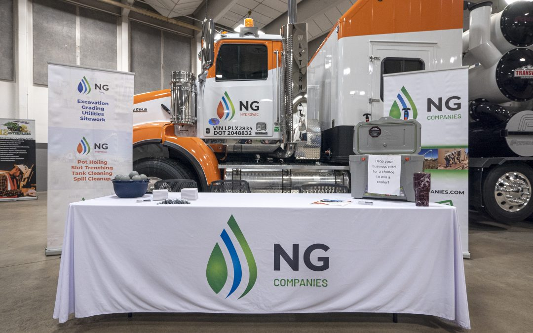 NG Companies booth at 811 event