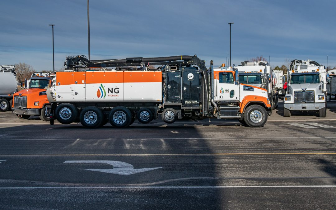 New hydrovac truck for NG Companies