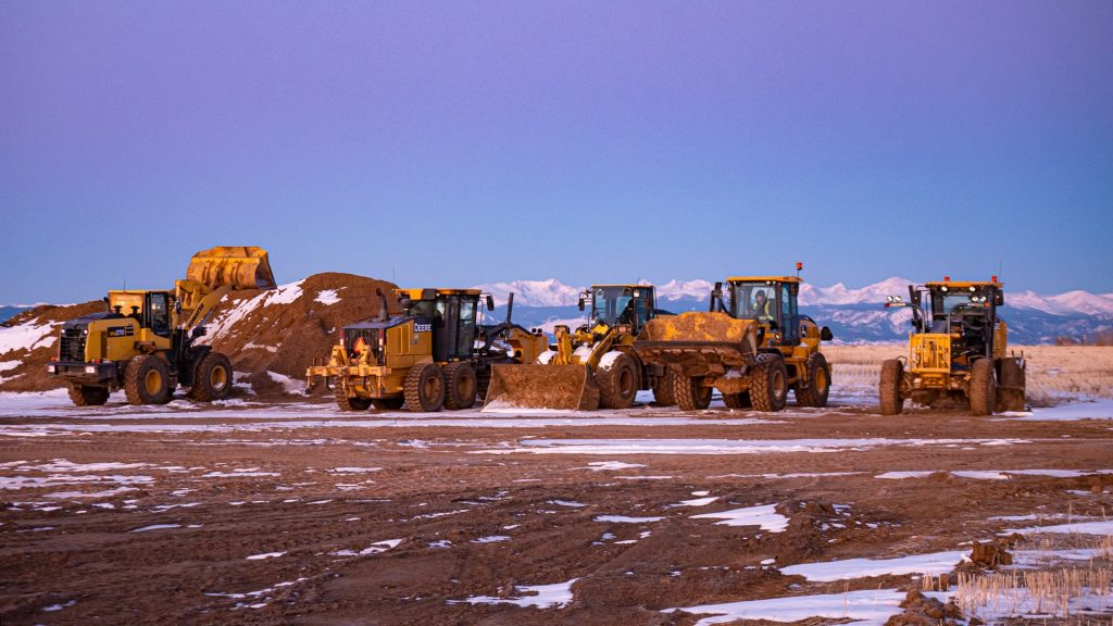 civil construction equipment in northern colorado