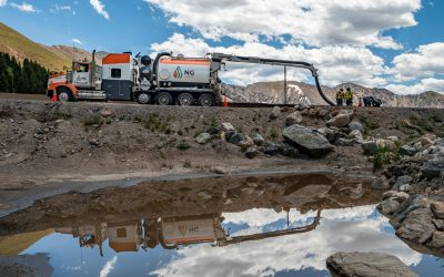 NG Hydrovac Cleans Up Diesel Spill on Scenic Loveland Pass